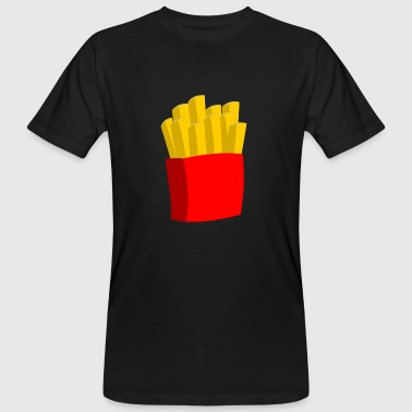 frites frites fast food presque food11 - T-shirt bio Homme