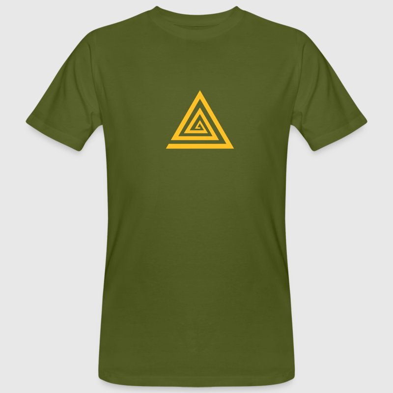 KAHUNA Protection Symbol, Vector, Reiki, Healing, Symbol, Sign, Powerful, Energy, Symbol, Sign, Icon. Please activate your symbol! - Men's Organic T-shirt