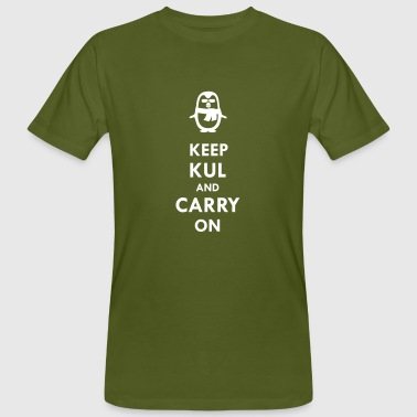 Keep KUL and carry on Guy - Men's Organic T-shirt