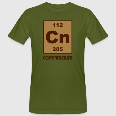 Copernicium (Cn) (element 112) - Men's Organic T-shirt