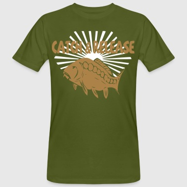 catch and release - Men's Organic T-shirt