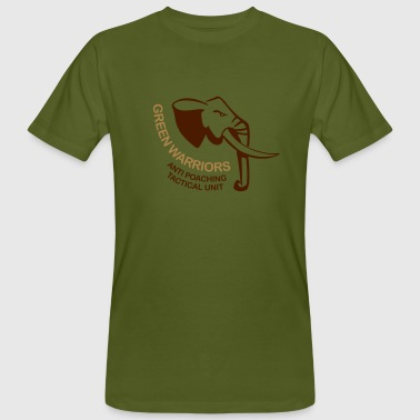 green warriors - Männer Bio-T-Shirt
