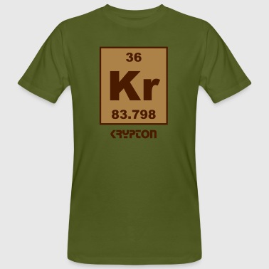 Krypton (Kr) (element 36) - Men's Organic T-shirt