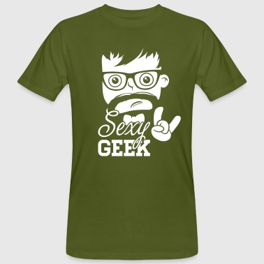 Like a swag style sexy geek nerd boss t-shirts - Men's Organic T-shirt