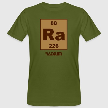 Element 88 - ra (radium) - Short (white) - Männer Bio-T-Shirt