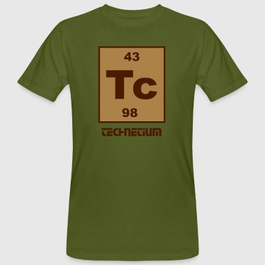 Technetium (Tc) (element 43) - Men's Organic T-shirt