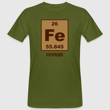Ferrum (Fe) (element 26) - Men's Organic T-shirt