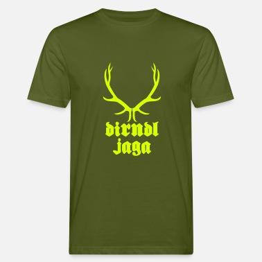 Zum Bedrucken Dirndljaga   Oktoberfest T-Shirts bedrucken - Männer  Bio-T-Shirt 26258a0318