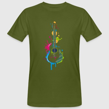 Graffiti guitar - Men's Organic T-shirt