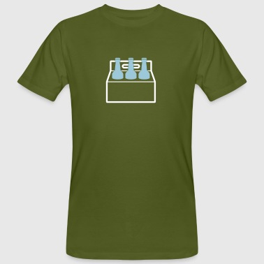 Six Pack Beer A Six-pack Of Beer Bottles - Men's Organic T-Shirt