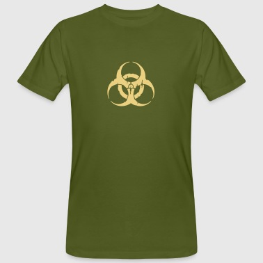 hazard worn out / hazardous distressed - Men's Organic T-Shirt