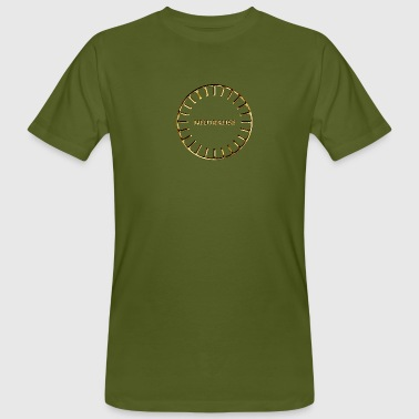 Buddha Feng Shui BOOST YOUR ENERGY, Neutralise, Gold, Sanjeevini, Please activate your symbol! - Men's Organic T-Shirt