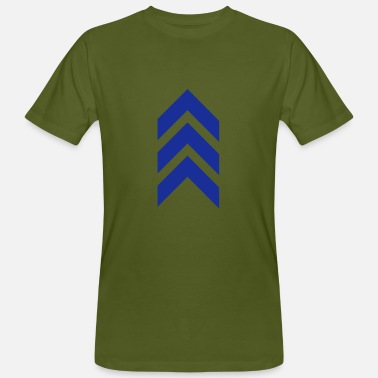 Indian-army Arrow, military, army, insignia, feather, symbols - Men's Organic T-Shirt