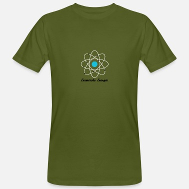 Atomic Energy Cosmic Energy Atom Quantum Physics - Men's Organic T-Shirt