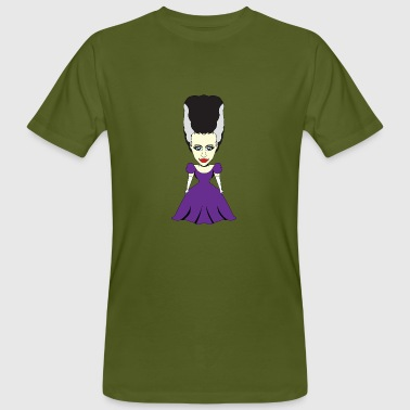 Comic Witch Witchcraft Witch Frankenstein (Kids comic) - Men's Organic T-Shirt