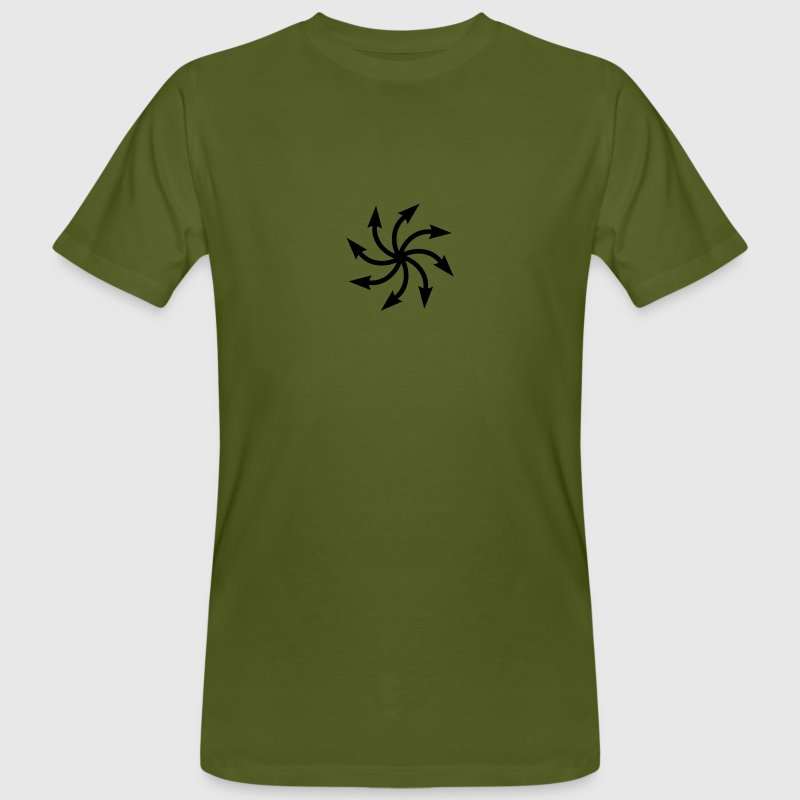 Symbol of chaos, Chaos Star, vector, everything has meaning and magic power! Power symbol, Energy symbol - Men's Organic T-shirt