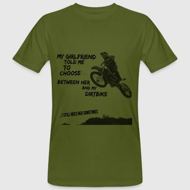 Dirt Bike T-Shirts design - Men's Organic T-shirt