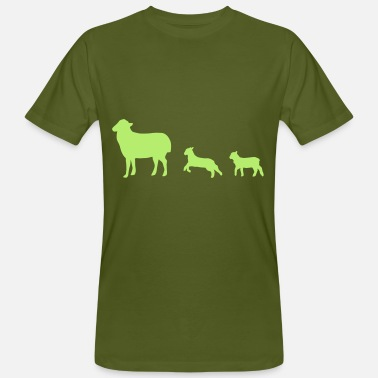 Lamb Sheep, lamb - Men's Organic T-Shirt