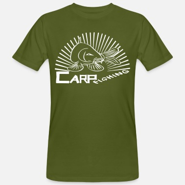 Carp Fish carp fishing - Men's Organic T-Shirt