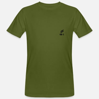 Corporate Corporal OR-3 - Men's Organic T-Shirt