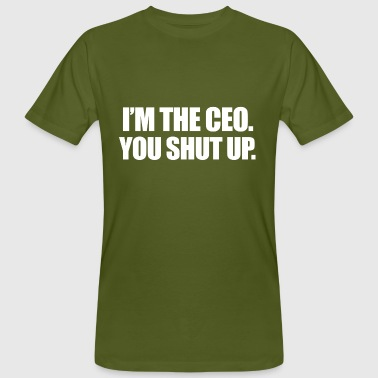in de CEO - Mannen Bio-T-shirt