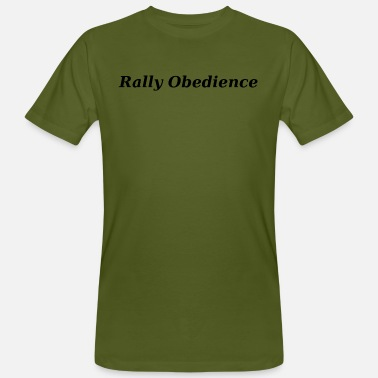 Sporthund Rally Obedience black, dog sport, - Men's Organic T-Shirt