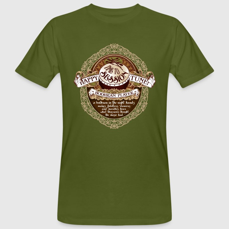 bodhran_session - Men's Organic T-shirt