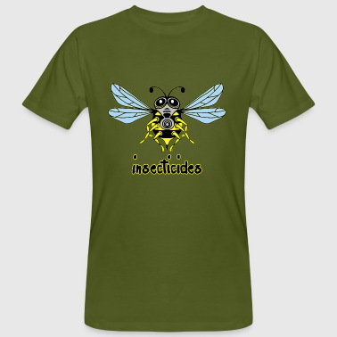 insecticides - Männer Bio-T-Shirt
