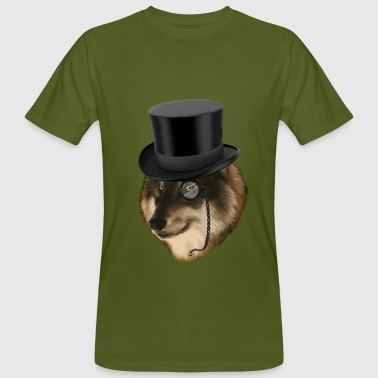 Like a sir Wolf Gentleman  T-Shirts - Men's Organic T-Shirt