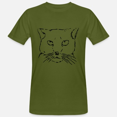 Star Cats Starring Cat A - Men's Organic T-Shirt