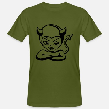 Devil Cute Devil devil - Men's Organic T-Shirt