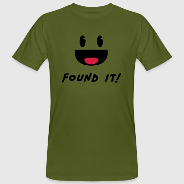 Geocaching - Found it! Tee shirts - T-shirt bio Homme