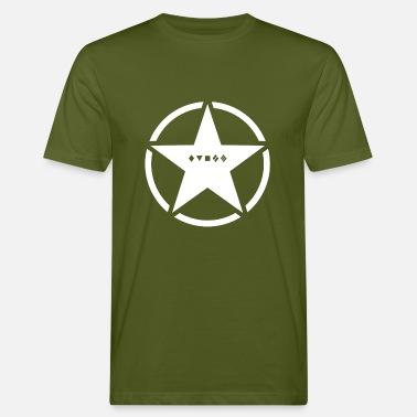 8f30568c Armée Américaine US Army Logo classes de tank - T-shirt bio Homme