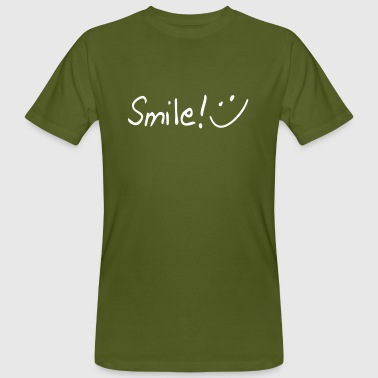 smile - T-shirt bio Homme
