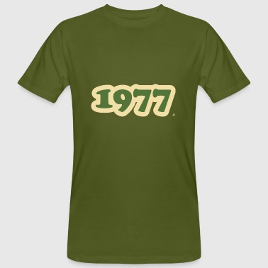 1977 retro cb - Men's Organic T-Shirt