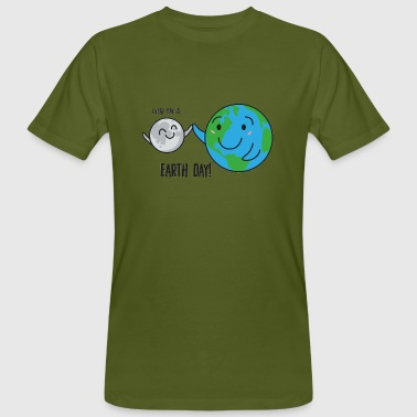 Earth Day Earth Day / Tag der Erde: Every Day Is Earth Day! - Männer Bio-T-Shirt
