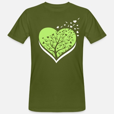 i love nature - T-shirt ecologica da uomo