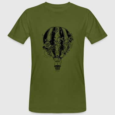 hot air balloon - Men's Organic T-Shirt