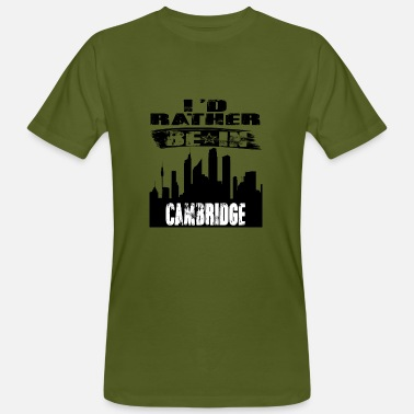 Cambridge Gift Identiteitskaart eerder in Cambridge - Mannen bio T-shirt