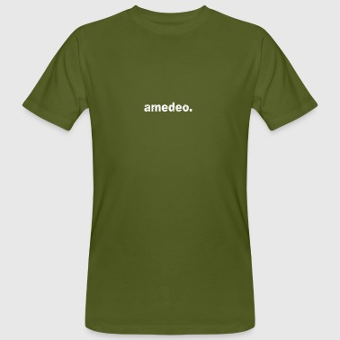 Gift grunge style first name amedeo - Men's Organic T-Shirt