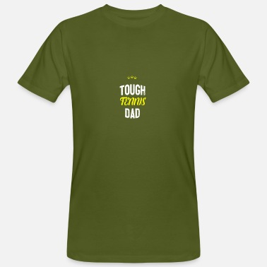 Tennis Dad Distressed - TOUGH TENNIS DAD - T-shirt ecologica da uomo