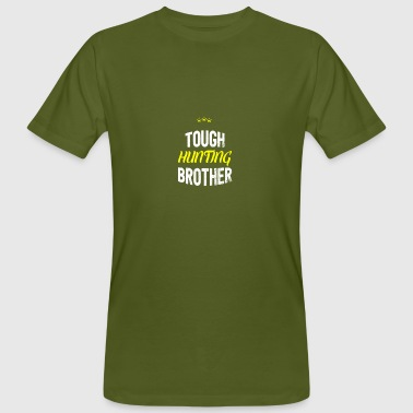 BROTHER HUNTING TOUGH - affligé - T-shirt bio Homme