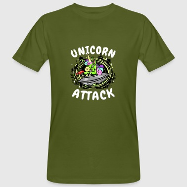 Attacke Unicorn Attack - Unicorn Attack - Extraterrestrial - T-shirt ecologica da uomo