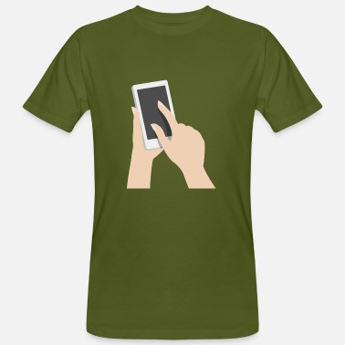 Mobile Telephone mobile - T-shirt ecologica da uomo