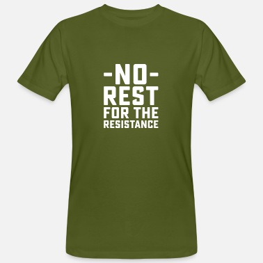 Rest No Rest - Men's Organic T-Shirt