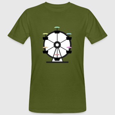 Colorful Ferris Wheel - Men's Organic T-Shirt