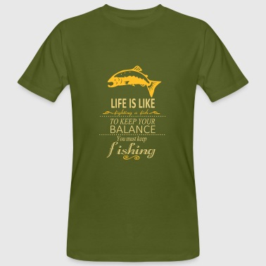 keep the balance - Männer Bio-T-Shirt