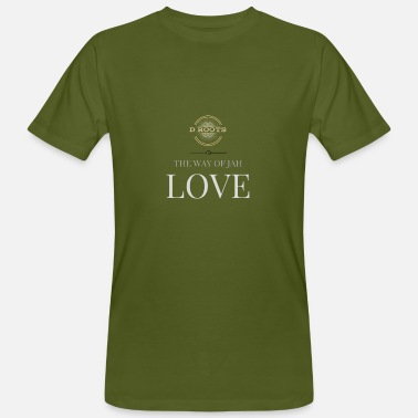 Jah DRoots Way of Jah Love - Men's Organic T-Shirt