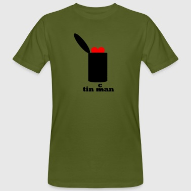 tin can - Men's Organic T-Shirt