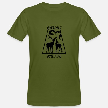 Gaudy Gaudi hut - Men's Organic T-Shirt
